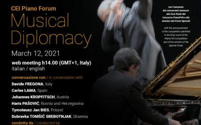 CEI Piano Forum 2021 – Musical Diplomacy